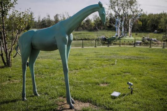 户外公共雕塑部分,向京作品