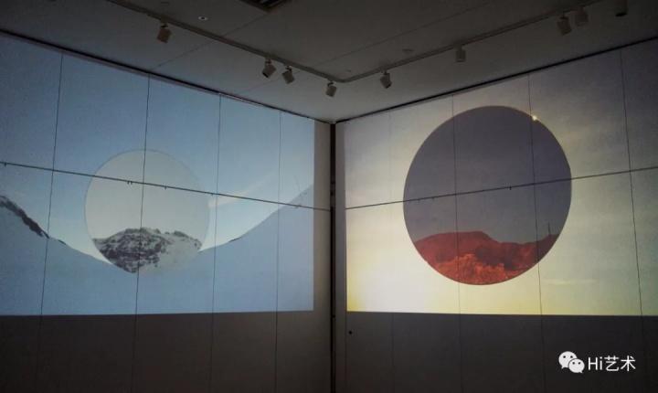 卡娜 《方圆系列》  与田晓磊的空间相比这里更为安静。