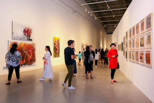 """筑中美术馆首次女性艺术展       看""""HER KIND""""如何反叛与创造"""
