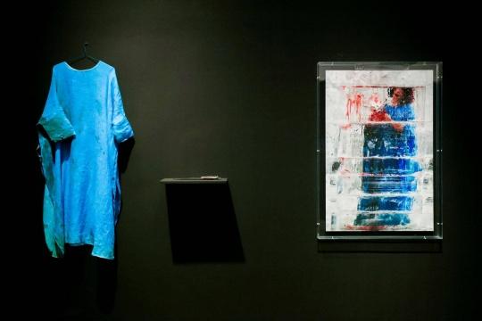 肖鲁 《极地》 行为、装置、影像 2016