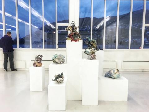加拿大艺术家琳达·索门作品展览现场