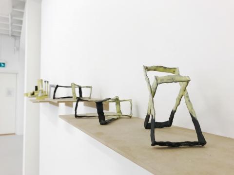 挪威艺术家爱思丽德·斯莱热作品展览现场