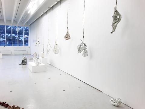 丹麦艺术家克里斯汀·哈布作品展览现场