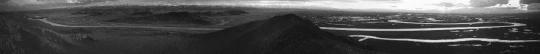 秋麦《山海图 #20》, 2017,手卷,摄影墨本、三桠皮纸,25.5cm x 253.5cm
