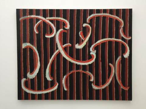 《NO.91》 120×150cm 布面油画 2017