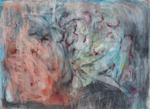 张力晖 《阿希诺伊》 140×180cm 布面油画 2017