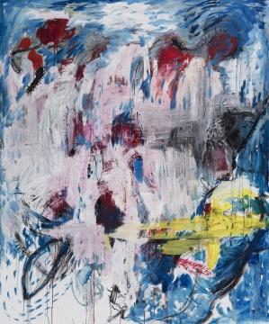 张力晖 《秘密》 150×180cm 布面油画 2016