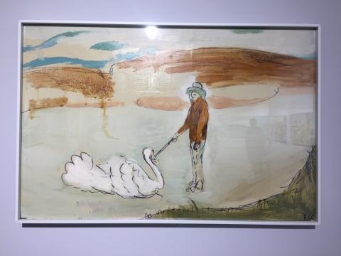 《午后3》 41×61.5cm 木板油画 2018