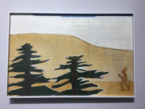 《传教士2》 41×61.5cm 木板油画 2018