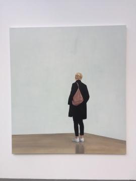 《背包》 210×190cm 布面油画 2018
