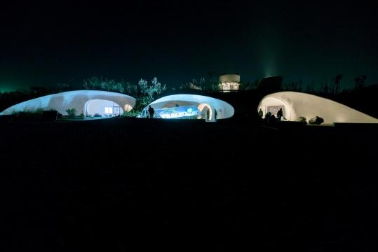 UCCA沙丘美术馆夜景