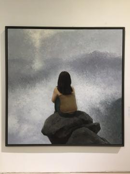 林笑初 《奇境》 200×200cm 布面油画 2008