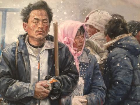 王少伦 《出路》 200×300cm 布面油画 2011