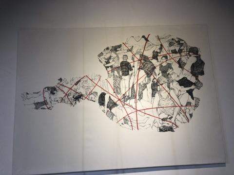奥尔加·格鲁吉亚 红线中的割据与分界