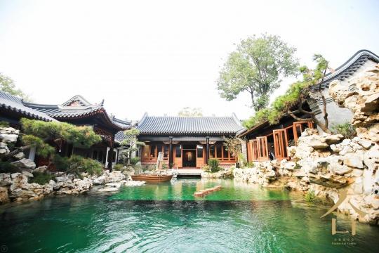 合艺术中心苏式园林