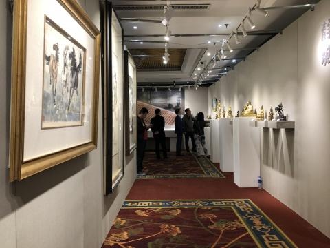 华艺国际2018秋季拍卖会北京巡展启幕 多件重量级拍品亮相