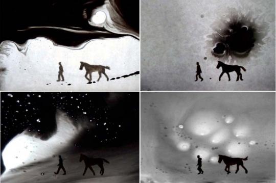 《脑海风尘》 单频有声录像 10'40,2009