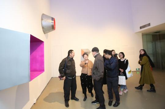 """今日美术馆开幕""""界面效应Becoming"""" 呈多元媒介的青年抽象艺术生态"""