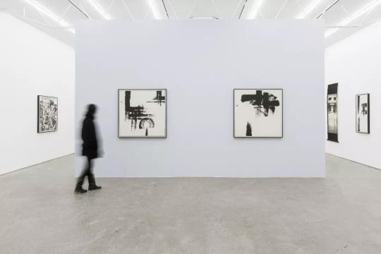 """""""沈忱 1980年代抽象水墨""""  再现实验水墨的抽象主义"""