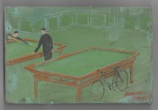 弗朗西斯·埃利斯《环行绘画系列》,1997年