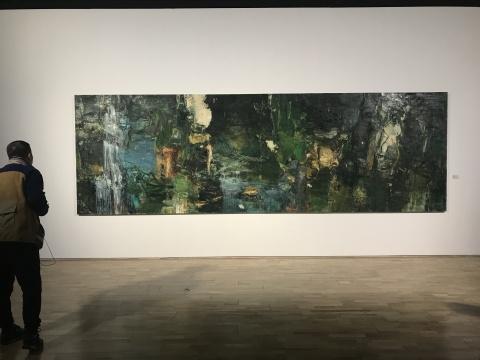 《洛神2016》 180X560cm 布面油画 2016-2018