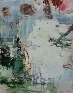 《锦江春色》230×180cm 布面油画 2018