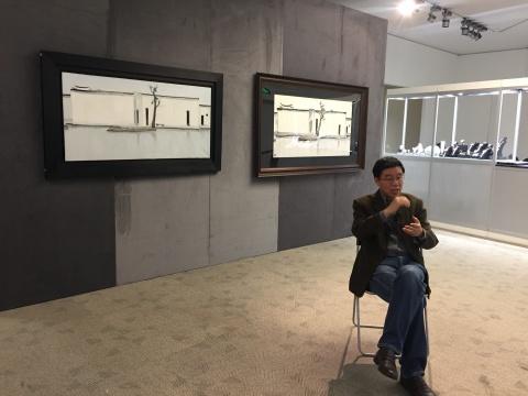 中国国家画院研究员、凤凰卫视主持人王鲁湘先生解读吴冠中《双燕》