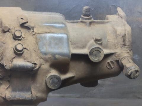 冷军 《文物——新产品设计》 97×126cm 布面油画 1993  估价待询