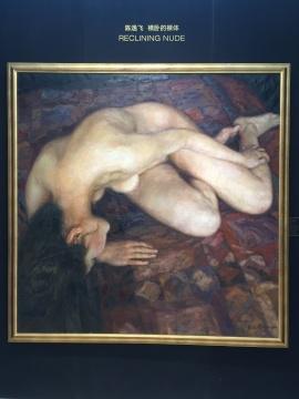 陈逸飞 《横卧的裸体》 200×200cm 布面油画 1996  估价:1800万-2800万元