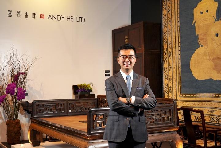 黑国强 典亚艺博创办人及总监、研木得益总监、香港古董及艺廊商会主席
