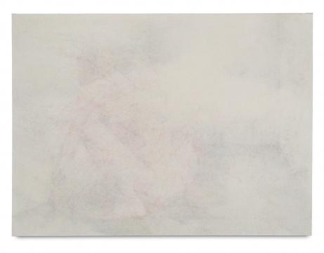 《天堂》200 × 148 cm 布面彩铅 油彩 2013