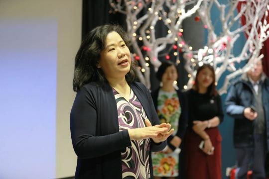 BACA国际艺术教育中心名誉校长Claudia Yang