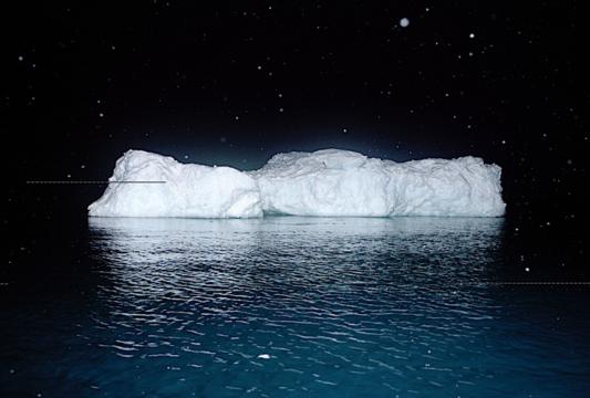 Chris Wainwright《白冰》喷墨
