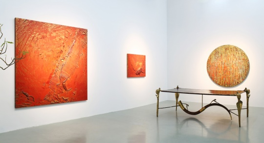 """艾米李画廊首次带来瞿倩梅个展 抽象的""""鎏金岁月"""""""
