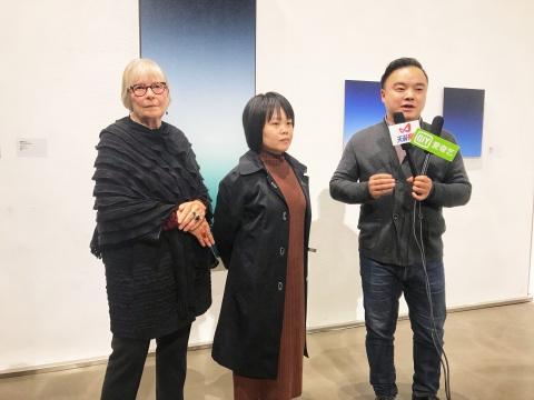 中国欧洲艺术中心主席伊尼卡·顾蒙逊、中国欧洲艺术中心总监李梅兰、策展人陈瑞