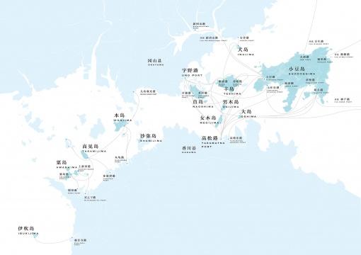 濑户内国际艺术节2019 官方地图