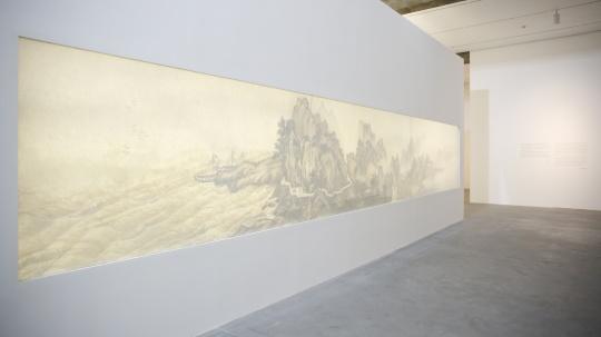 """""""新中国画""""板块现场"""
