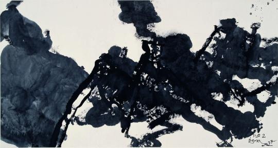 王川《1997NO.2》97x179cm1997