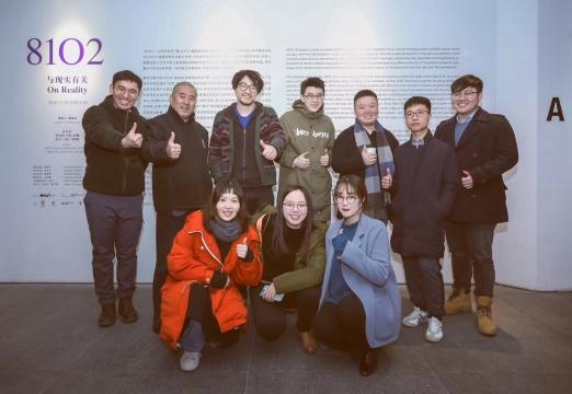 艺术家与OCAT工作人员