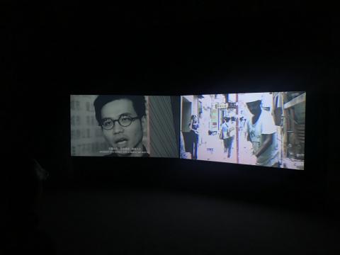 马海蛟 《说快乐区域》风景计划#3 16分37秒 双频影像 2018