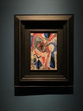 吴大羽《无题100》53.7X37.2cm布面油画 约1980年