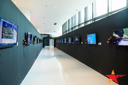 影像作品展示区域