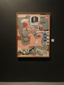 《抓牡蛎的人》 布面油画 1935
