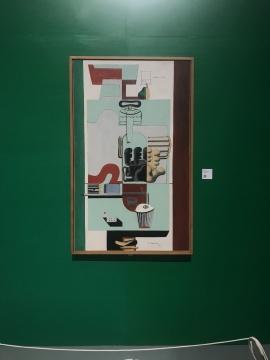 《一只梨的组成》布面油画 1929