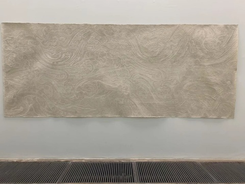 付小桐《轮回》160x400cm 手工宣纸 2013
