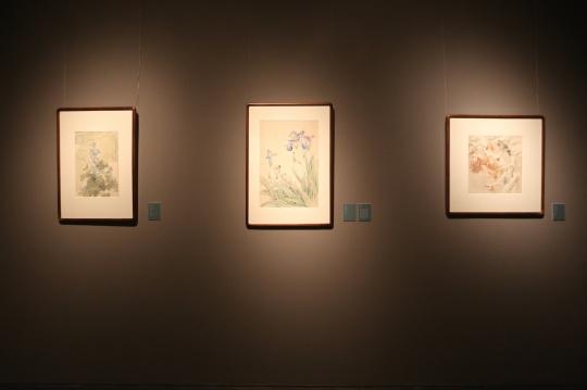 北京画院展览现场