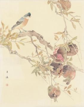 《没骨习作之十一》52cm×42cm 2008年 绢本设色