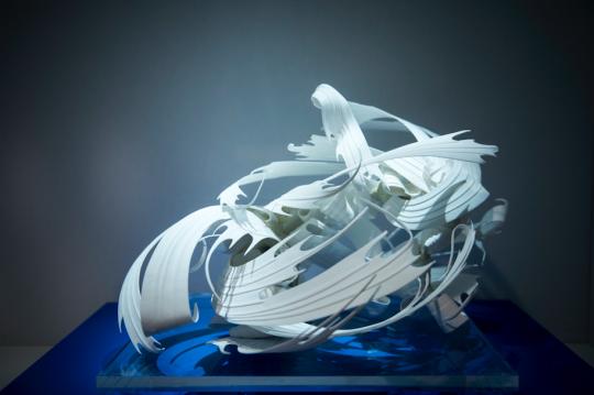 """首届""""中国白""""二等奖获得者Paula Bastiaansen (荷兰)的作品《无题》"""