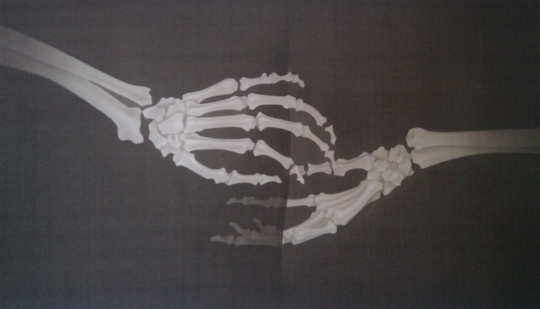 叶紫 《她的叙事诗系列七(2)》30x51cm 绢本设色 2018