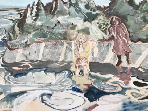 《罗马是个湖 180709》局部